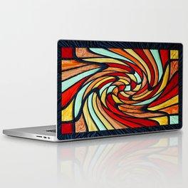 chromatic swirl Laptop & iPad Skin