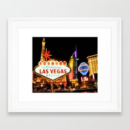 Living Las Vegas 2 Framed Art Print