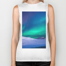 Northern Lights (Aurora Borealis) 15. Biker Tank