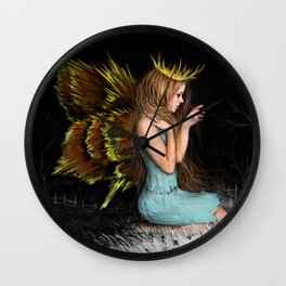 Treasures in the Dark Wall Clock