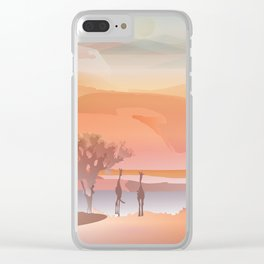 Oasis Clear iPhone Case