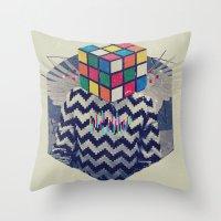 the xx Throw Pillows featuring XX by Steven Kline