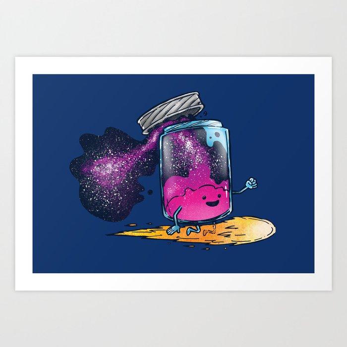 The Cosmic Jam Art Print