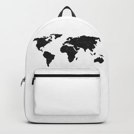 Galaxy World Map Backpack