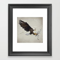 Air Fighter Framed Art Print