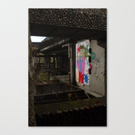 St. Peter's Seminary - terrace Canvas Print