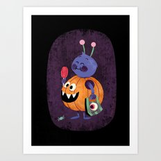 Hallow Candies Art Print