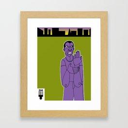 1001 Black Men--#244 Framed Art Print