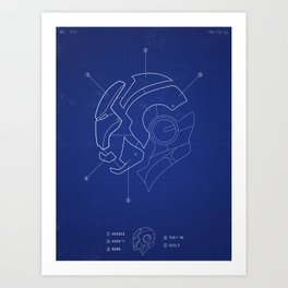 Heroes Are Built Art Print