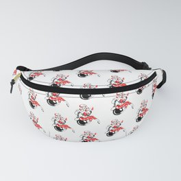 Pin up girl bomb rockabilly Mad Twins Fanny Pack