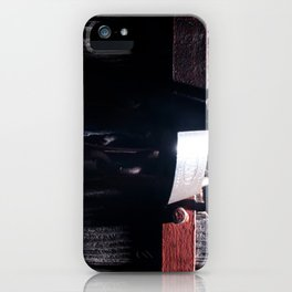 Lock on a heavy door iPhone Case