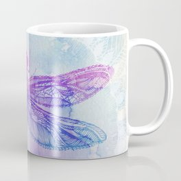 Mandala Dragonfly Coffee Mug