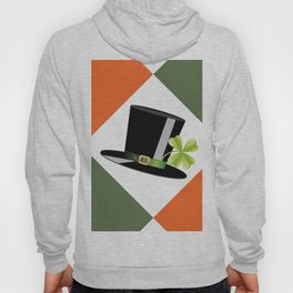 Hat with shamrock Hoody