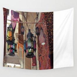 Arabian Lanterns  Wall Tapestry