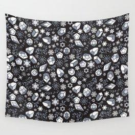 Winter diamonds Wall Tapestry