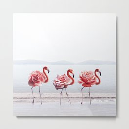 The Pink Dance Metal Print