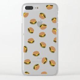 Burger Phone Case Clear iPhone Case