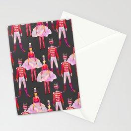 Nutcracker Ballet - Dark Gray Stationery Cards