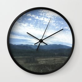 Smoky Cove Wall Clock