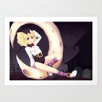 eugenia loli Art Prints featuring Loli Ruri by Kunogi