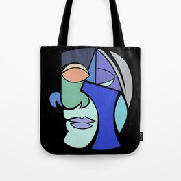 The Face 2 Tote Bag