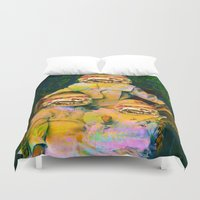 mac Duvet Covers featuring Mac Attack by Tyler Spangler