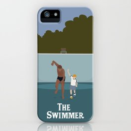 Make Believe - The Swimmer iPhone Case