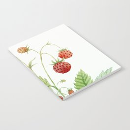 Wild Strawberries Notebook