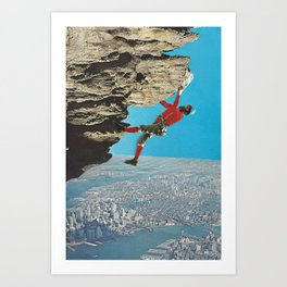 high trekking Art Print