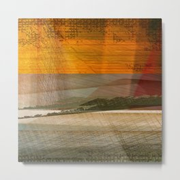 Landscape in the Middle East Metal Print