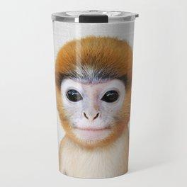 Baby Monkey - Colorful Travel Mug