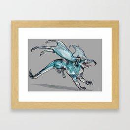 Sea dragon Framed Art Print