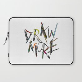 Draw More (Color) Laptop Sleeve