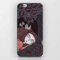 caitlin hackett iPhone & iPod Skins featuring Tree of Forever Dreams by Judith Clay