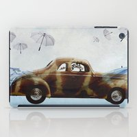 drive iPad Cases featuring DRIVE by Jerzy Jachym