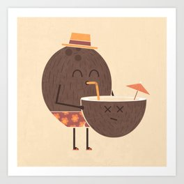 Cannibal! Art Print