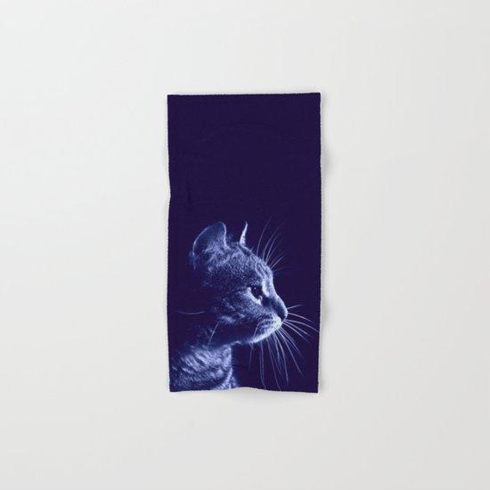 Cat profile Hand & Bath Towel