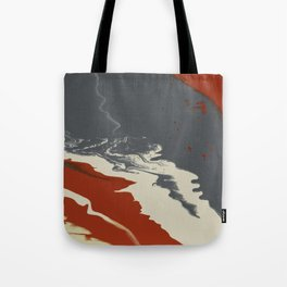 Volcanic Tropical Tote Bag