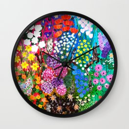 Life is a Tapestry Wall Clock