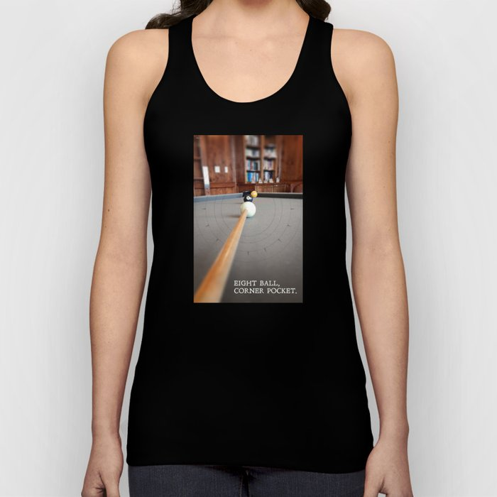 Eight Ball Corner Pocket Unisex Tank Top
