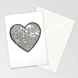 Little Rock Love Stationery Cards