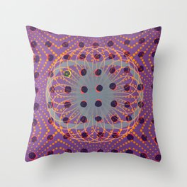 Dot - 3D graphic Throw Pillow