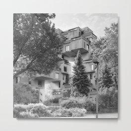 Habitat 67 11 - Mid Century Architecture Metal Print