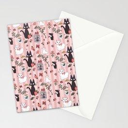 Jiji Cat Pattern Stationery Cards