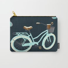 My Bike Floral Carry-All Pouch
