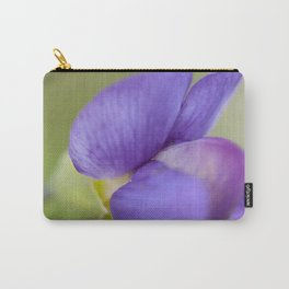 Taking Flight - Purple Lupin, New Zealand Carry-All Pouch