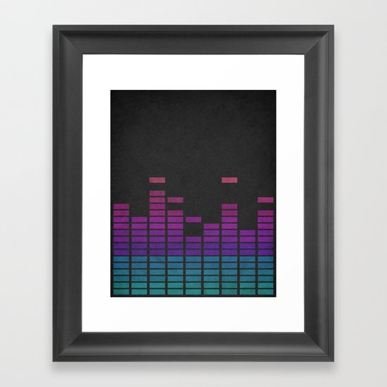 Equalize Framed Art Print