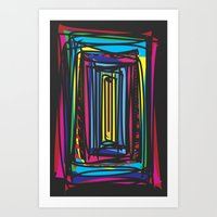 frames Art Prints featuring Frames by Niko Psitos