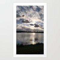 Cloud Beings 1 Art Print