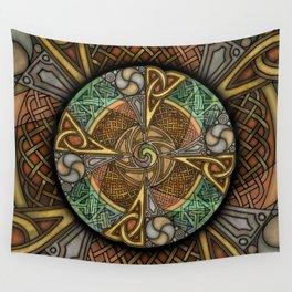 Celic Apeatue Mandala Wall Tapestry